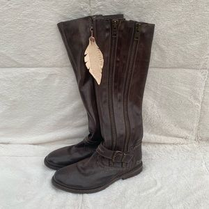 Bed Stu Tango Knee High Leather Boots